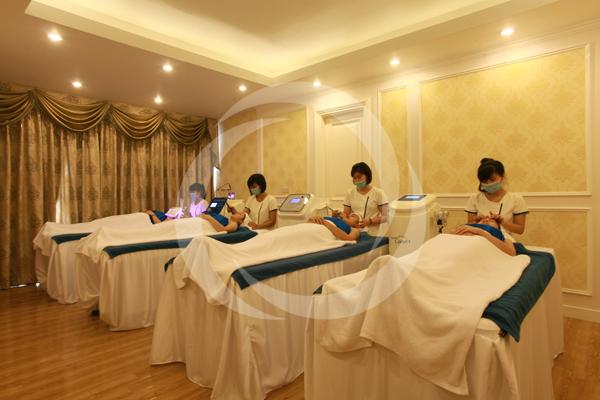 Phòng spa đẳng cấp quốc tế