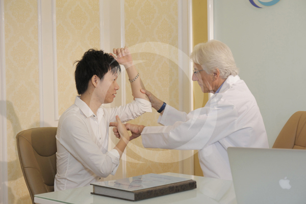Phòng bác sĩ thăm khám và tư vấn