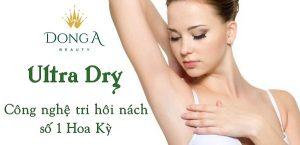 Ultra Dry – Công nghệ trị hôi nách số 1 từ Hoa Kỳ